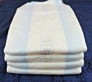 4 x TENA Slip Plus Large Adult Nappy - Diaper - Bundle.