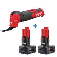 New Milwaukee 2526-20 M12 Oscillating Multi-Tool 48-11-2412 M12 Battery Pack 2