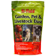 Garden Pet Livestock Permethrin Dust (4 Lbs) Fleas Ticks Lice Flies Plant Insect