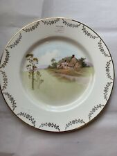 Antique Royal Doulton Country Home Collector 10&1/4� Plate