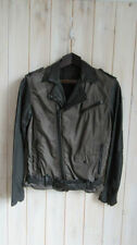 Unbranded Men's Cotton Zip Biker Coats & Jackets