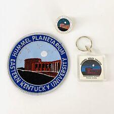 Hummel Planetarium EKU Souvenir Lot Patch Hat Lapel Pin Key Chain Richmond Ky