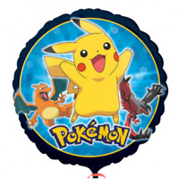Pokemon rund 45cm Ballon Luftballon Geburtstag Helium Party