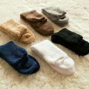 6 Pairs Winter Warm Soft Hot Cosy Bed Socks Women Mens Fluffy Home Sock Thick