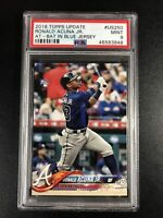2018 Topps Update Ronald Acuna JR #US250 PSA 9 MINT Rookie RC Atlanta Braves