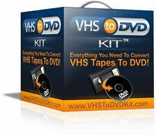 Convert Your VHS  to DVD using a Mac Computer