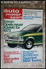 AMS Auto Motor Sport 16/72 DB 280 E BMW 2000 tii touring Opel Kadett