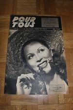 Film pour Tous N°8 - 4 Juin 1946 - Josette Day Jouvet Dauphin Giselle Pascal