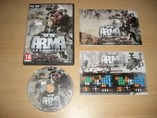 ARMA 2 II Operation Arrowhead Standalone Expansion PC DVD ROM COMPLET Rapide Post