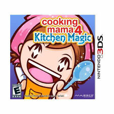 Cooking Mama 4: Kitchen Magic (Nintendo 3DS, 2011)