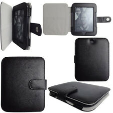 Genuine Leather Case Cover for Barnes Noble Nook GlowLight and 2 Simple Touch