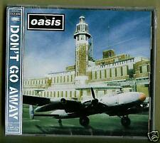 Oasis Don t Go Away CDS JAP 4 Tracce New JEWEL RARO ! mint sealed