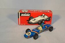 SOLIDO 142 ALPINE F. III RACING CAR NEAR MINT BOXED