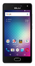 BLU Studio Touch 16GB Unlocked GSM Dual-SIM 4G QuadCore 8MP Smartphone-Black-New