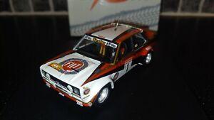 Fiat 131 Abarth Walter Rohrl Hunsruck Rally 80 winner 1/43rd rare Trofeu WRC