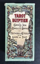 Tarot Egyptien Grand Jeu de l'Oracle des Dames, Etteilla, Egyptian Tarot