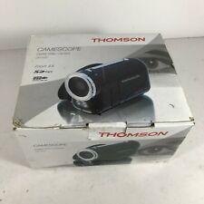Thomson camescope Digital Video Cámara DV 037 en Caja & trabajando bien < HM07 (QA4)