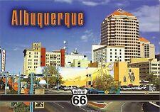 Postcard New Mexico Albuquerque Old Town City View Rte 66 Unused MINT