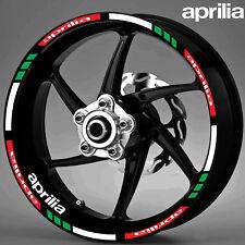 MOTORCYCLE APRILIA WHEEL STICKERS RIM DECALS TAPE STRIPE MOTO STICKERS RIM VINYL