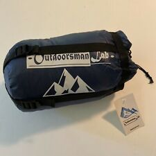 OutdoorsmanLab Lightweight Sleeping Bag For Backpacking Camping Hiking Travel