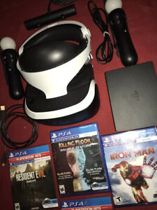 PS VR PS4 Virtual Reality Headset CUH-ZVR2 Bundle VR Games Motion Camera