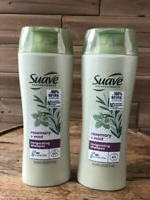 2 Suave Professionals Rosemary Mint Invigorating Clean Shampoo 12.6 fl oz Each