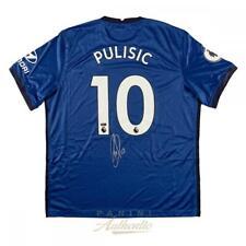 Christian Pulisic Dédicacé Bleu #10 Chelsea FC Jersey Panini