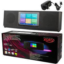 Internet Radio Web Media Player XORO HMT 200 Spotify Deezer Multitouch Wecker