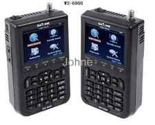 "Satlink WS-6908 3.5"" DVB-S FTA Digital Satellite Meter Satellite Finder"
