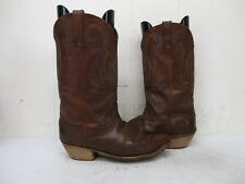 Durango Brown Leather Snip Toe Cowboy Boots Womens Size 9 M Style RD4402