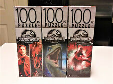 Jurassic World 100 Piece Jigsaw Puzzles set of 3 New