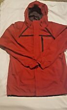 Columbia Mens Omni-Shield Winter Jacket size S small Interchange Red shell only