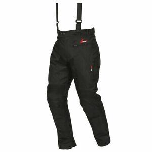 "Weise Marin Motorcycle Textile Waterproof Trouser Pant Jean Black Size 34"" Waist"