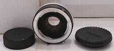 Film Camera Lens Ring Vivitar Automatic Tele Converter 2X-5 & Caps Made in Japan