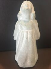 Isabel Bloom Praying Angel Girl Original Signed Victorian Bronze Look Sculpture