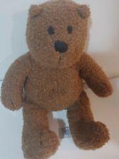 Baby Gap Brown Bear EUC Curly Vintage 14 inch