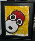 PEANUTS BY TOM EVERHART SNOOPY WWI FLYING ACE SUMMER 1996 LIMITED EDITION GICLEE