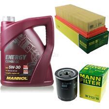Motor-Öl 5L MANNOL 5W-30 Combi LL+MANN-FILTER Filterpaket Fiat Punto 176 55 1.1