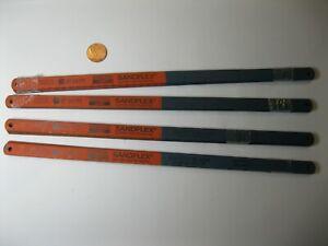 """10 x Sandvik 300mm (12"""") HSS HACKSAW BLADES 24 TPI. NEW. Made in Sweden"""