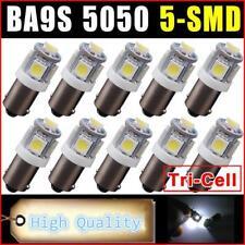 10PCS Ba9s 5 smd 5050 Led Canbus Error Free Car Reading Lights DOOR LIGHT BULB