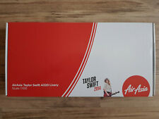 "New 1/100 AirAsia Airbus A320 With Taylor Swift ""Red"" Livery Model"