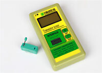 2020 Digital Component Transistor Tester Diode Triode Capacitance  LCR ESR Meter