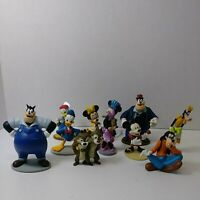 LOT PVC Disney Mickey Mouse Club and Friends Figures cake toppers railroad