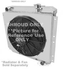 "Toyota Land Cruiser Monster Cooling Aluminum Radiator Shroud-16 1/2""H x 19 1/4""W"