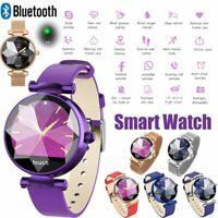 Damen Bluetooth Smartwatch Pulsmesser Armbanduhr für iPhone Samsung Huawei P30
