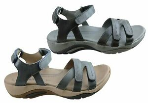 Homyped Ursa Womens Supportive Adjustable Leather Sandals