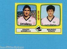 PANINI CALCIATORI 1985/86 -FIGURINA n.492- SORBELLO+RONCO - PALERMO -Rec