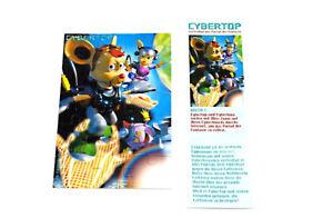 Cybertops Puzzleecke mit brauner Rückseite, oben links (Druck - Variante)