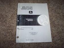 John Deere 300D 310D 315D Backhoe Loader Operation & Test Repair Manual TM1496