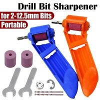 Corundum Grinding Powered Tools Wheel Titanium Drill Bit Sharpener Portable AU